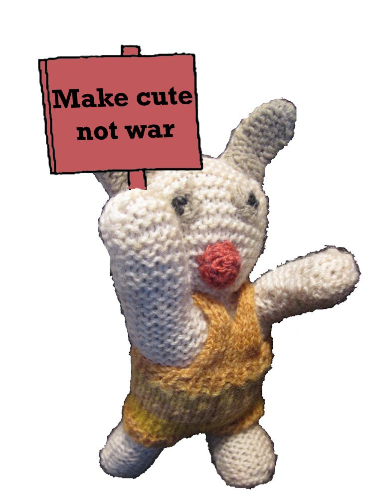 Make cute -not war